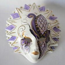 Venezianische Maske-Sonne handgemalt mit Aufhängung  in Venedig