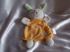 Doudou lapin marionnette orange, King Bear