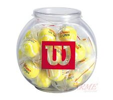 Wilson US Open Tennis Ball Keychain 24 Jar