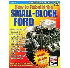 How To Rebuild The Small-Block Ford - Book SA102