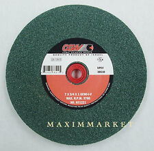 Bench Grinding Wheel 7x3/4x1 Green Silicon Carbide