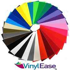 7 Rolls of 12 inch x 10ft Permanent Sign Craft Vinyl UPick from 30 Colors V0303
