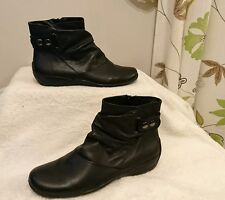 BNWT Clarks Women's Ankle Boots Odd Sizes Right 7E wide fit Left 7.5D RRP £59.99