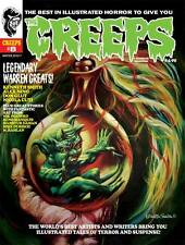 CREEPS #8: Warren Monster Magazine KENNETH SMITH Alex Nino DON GLUT More!