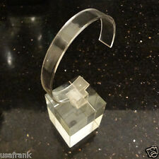 Crystal Mineral Glass Standing for Watch Jewelry Display