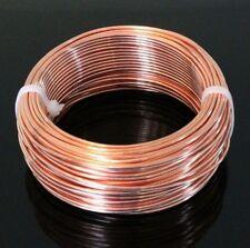 18 Ga Copper Jewelry & Craft Wire (200 Ft. Coil / 1 Lb.) Half Hard Pure Copper