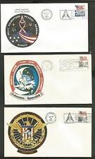 SPACE SHUTTLE COVER LOT OF 14  KENNEDY SPACE CENTER LOT # 2