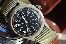 BENRUS MIL-W-46374 GENTS MILITARY WATCH ON NATO STRAP c1969-COLLECTIBLE PIECE!