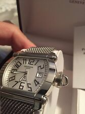 Philippe Charriol Actor Silver Dial Automatic Watch Mesh CCHAXL