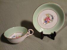 Vintage Tea Cup and Saucer - Fine Bone China  Made in England - Grafton
