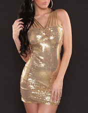 Sexy Party Dress Cocktail Evening Dress Club Wear Mini Dress Sequin Bodycon