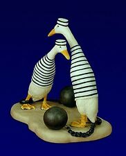 """THE JAIL BIRDS""- WILL BULLAS- PORCELAIN"