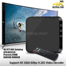 4K Smart TV Box Android RK3229 Quad Core 8GB WIFI Mini PC Fully Loaded