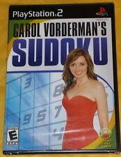 Carol Vorderman's SUDOKU (Sony Playstation 2, 2007) *SEALED* SHIPS FAST Mon-Sat!