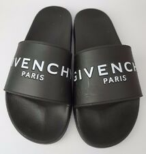 Givenchy Paris Men's Black Slides Sandals Shoes Slip On Size 41