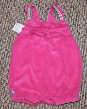 New! Baby Girls Ralph Lauren POLO Outfit (SunSuit; Romper; Pink! Macy's) - 9 mo