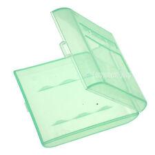 Pack De 4 Verde estuches de transporte para 4x Pilas Aa O Aaa