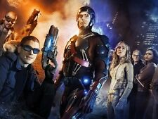 POSTER LEGENDS OF TOMORROW ARROW FLASH BRANDON ROUTH WENTWORTH MILLER TV #1