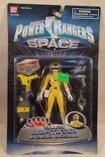 Power Rangers In Space - Lightstar Yellow Ranger Action Figure by Bandai (MOC)