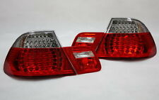 LED RÜCKLEUCHTEN HECKLEUCHTEN SET BMW E46 3er CABRIO 00-03 ROT KLAR +LED BLINKER