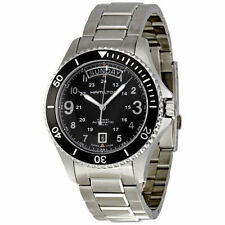 New Hamilton Khaki King Scuba Black Dial Automatic Mens Watch H64515133