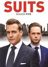 Suits: Season 5 (DVD, 2016, 4-Disc Set)FAST SHIPPING