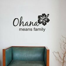 OHANA means Family Wallpaper Muro Gioielli 80 x 40 cm Muro Immagine