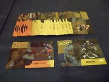 1998-99 Upper Deck Ice McDonald's NHL Hockey Card Complete Set #1-28