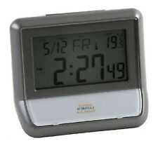 London 1872 Alarm Clock Digital LCD Glows Automatically All Night Light Sensor