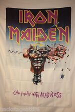 IRON MAIDEN Can I Play With Madness? Eddie Cloth Poster Flag Fabric Tapestry-New