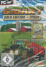Pc dvd-rom + agriculture géant + Gold Edition 2 pack + agriculteur + win 8