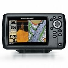 HUMMINBIRD ELICA 5 di GPS FISH FINDER Chart Plotter. W / cartografia Navionics