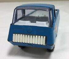 "VTG Tonka Pickup Truck Blue Metal Plastic 4.5"" 70s Orig. Decals 4 Wheel Toy"