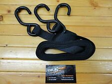 SNOWMOBILE TOW STRAP 3 POINT TOW ROPE MAKES TOWING EZ
