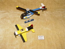LEGO Sets: Creator: Airport: 5864 Mini Helicopter & 7808 Yellow Airplane 100%
