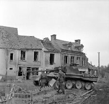 6x4 Gloss Photo ww340 Normandy Calvados Iingevres 1944 lg1
