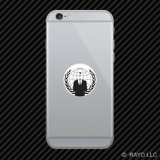 Anonymous Occupy America Cell Phone Sticker Mobile Die Cut
