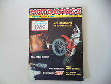 MOTOCROSS 1/1989 FANTIC TRIAL 305/HONDA CR 125 250 R/SPEEDWAY GM JAWA/GODDEN