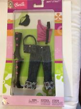 Barbie 2003 Fashion Avenue Beat Street #B3486 jeans boots new sealed