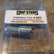 Grip Studs Off Road 4x4 Tire Studs, #4200 Stud Installation Tool for Studs #1200