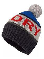 Camisa Para Hombre Bobble Beanie Sombrero de punto con el logotipo de la marca Giro Redford petróleo Azul