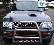 MITSUBISHI L200 BULL BAR CHROME AXLE NUDGE A-BAR 60mm 1996-2001, ON OFFER, NEW