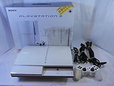PlayStation 3 Ceramic White Console 80gb JAPAN PS3 *GREAT CONDITION* Fully Boxed