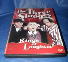 """THE THREE STOOGES  """"KINGS OF LAUGHTER""""  (DVD, 2001)  *LIKE NEW*  ~FREE SHIPPING~"""