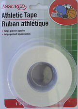 ATHLETIC CLOTH TAPE 1-1/2 In x 8 Yd/Roll Sports Bandage Ankle Wrist Finger Wrap