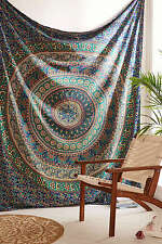 Indian Hippie Mandala Tapestry Bohemian Wall Hanging Bedspread Twin Throw Decor