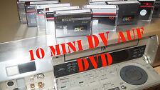 20 MiniDV  digitalisieren auf DVD