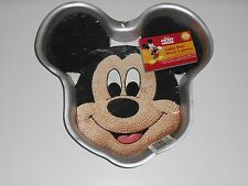 2001 Wilton Disney MICKEY MOUSE Face Character Party CAKE PAN Mold #2105-3603
