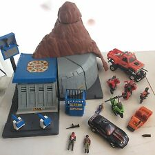 1985 M.A.S.K. Kenner Huge Lot Boulder Hill, 4 Figures, Vehicles, MASK
