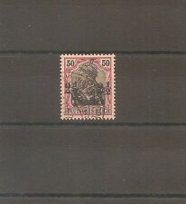 TIMBRE ALLEMAGNE DEUTSCHE KOLONIE GERMAN LEVANT N°35 OBLITERE USED